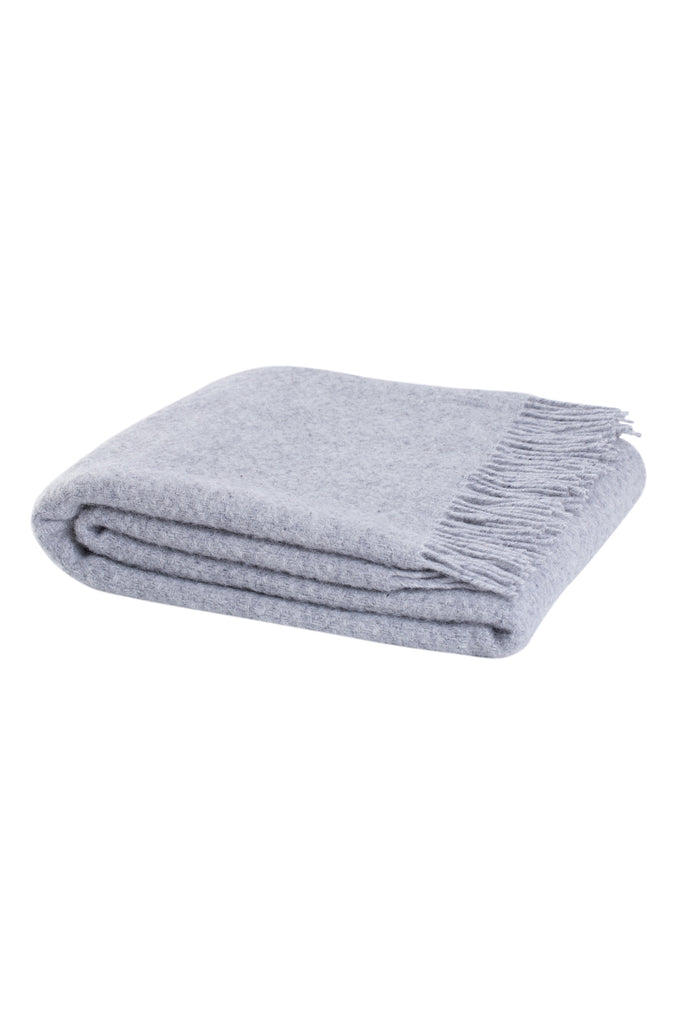 kete throw fog grey