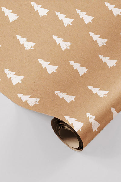 made xmas paper roll