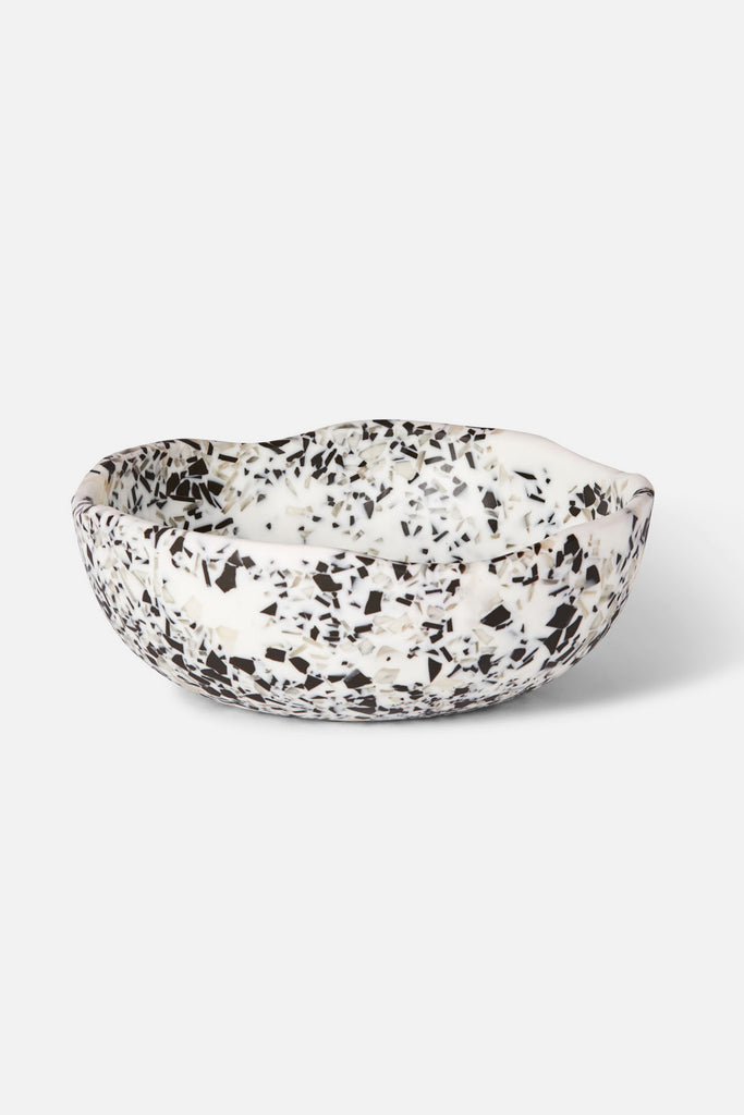 resin medium organic bowl terrazzo