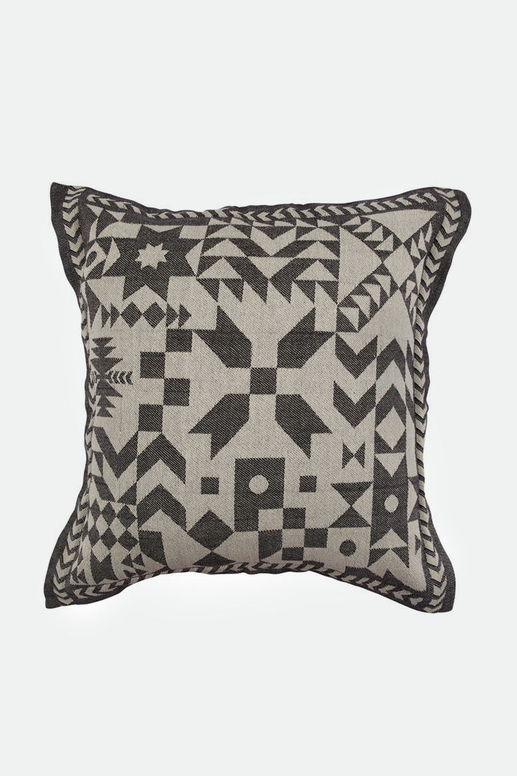 patched honour cushion