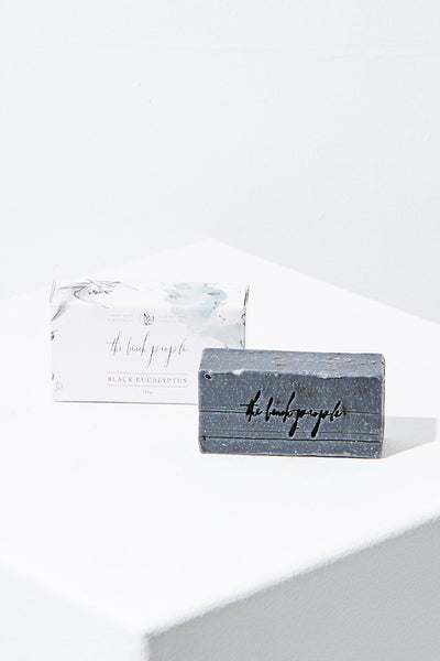 soap bar black eucalyptus