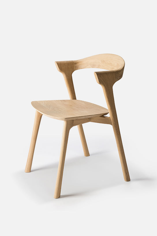 tove oak dining chair