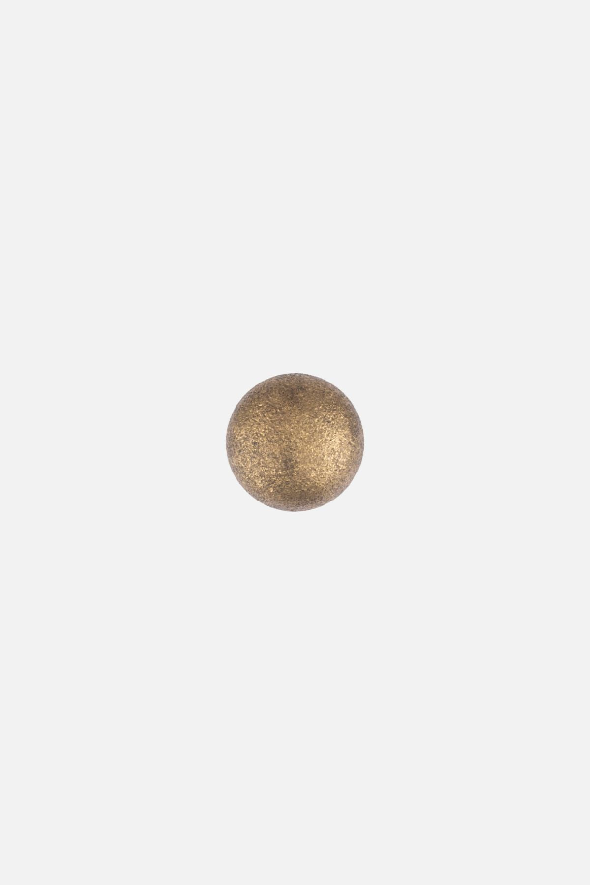 seatossed drawer knob aged brass