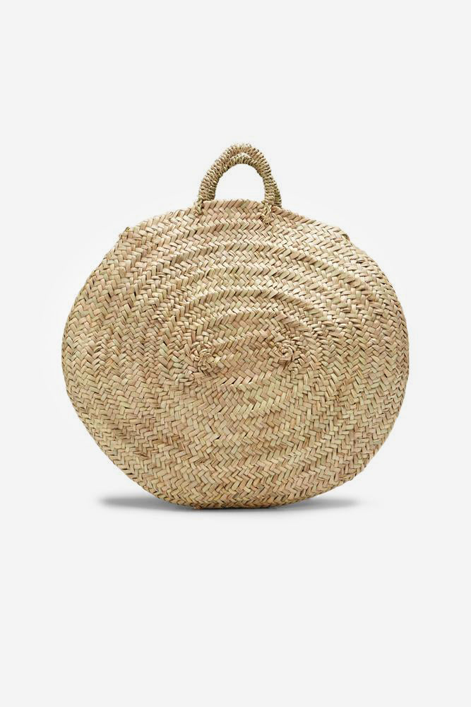 moroccan beach basket medium