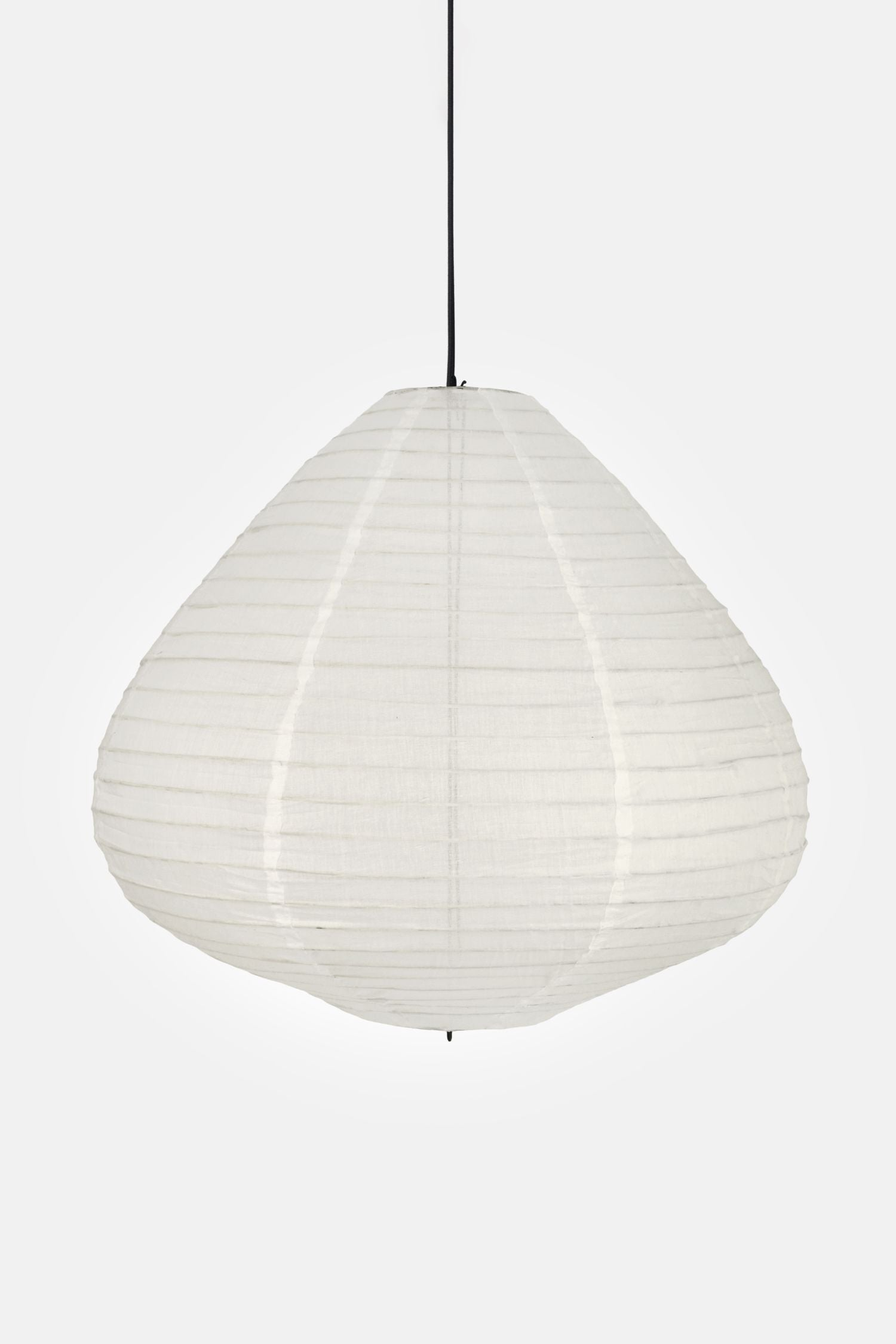 natural undyed cotton lamp shade + cord