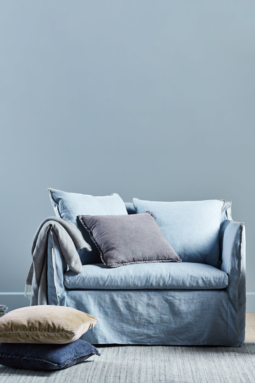 torpedo bay sofa chair cloud blue