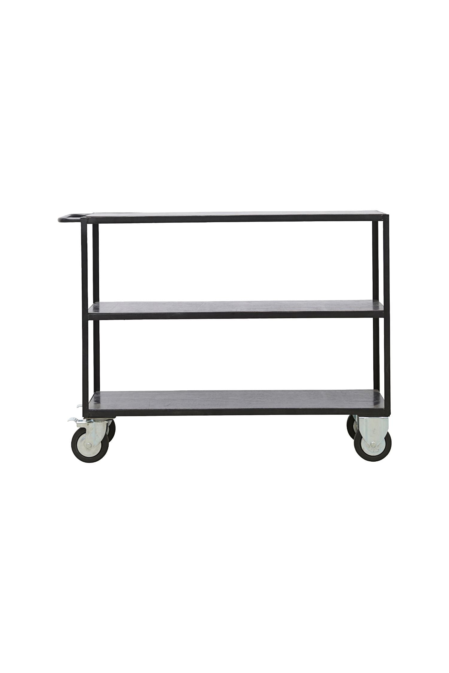 shelving unit with castors