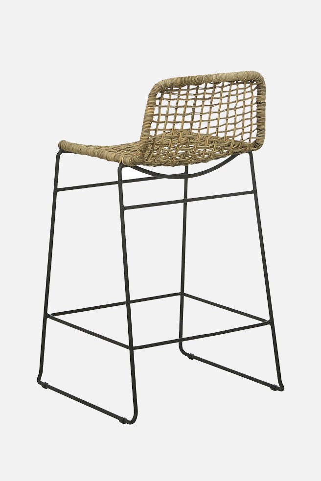 otto bar stool grey wash