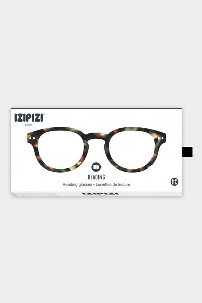 Izipizi reading glasses #C tortoiseshell