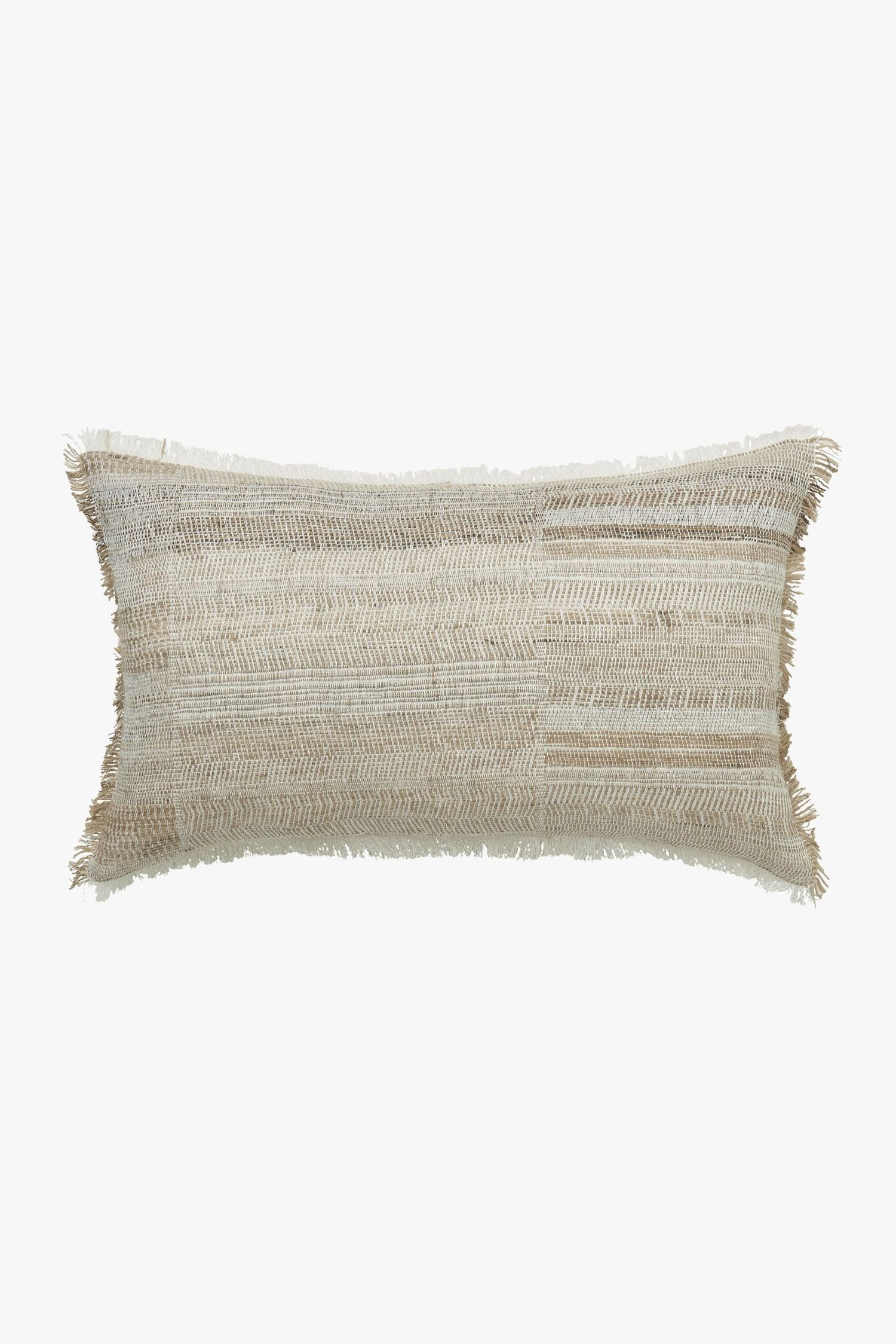 portafino cushion cover caramel/white