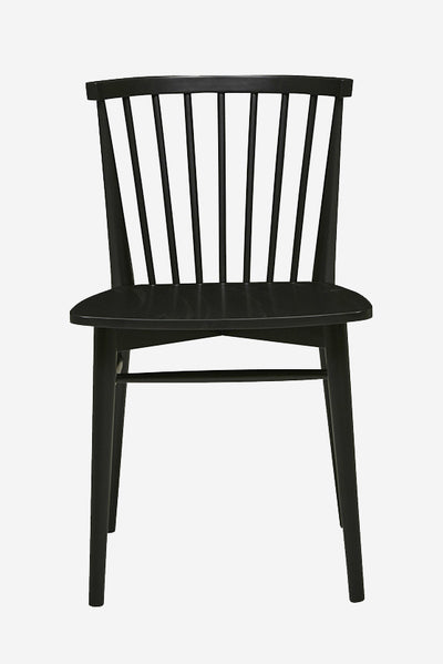 tove spindleback dining chair ebony