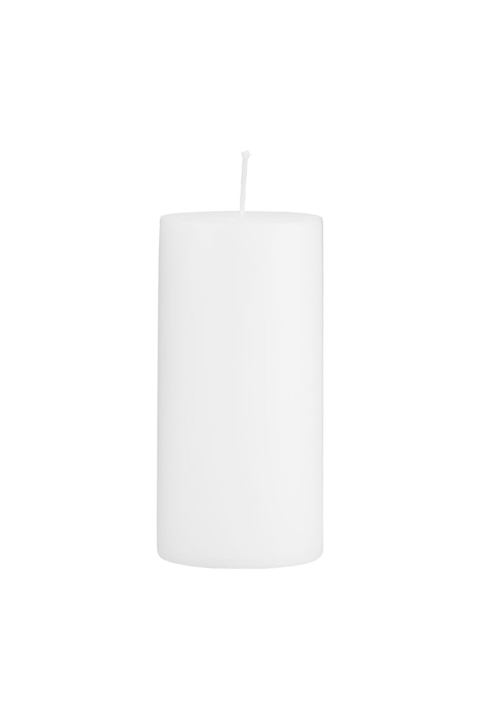 candle white 15cm