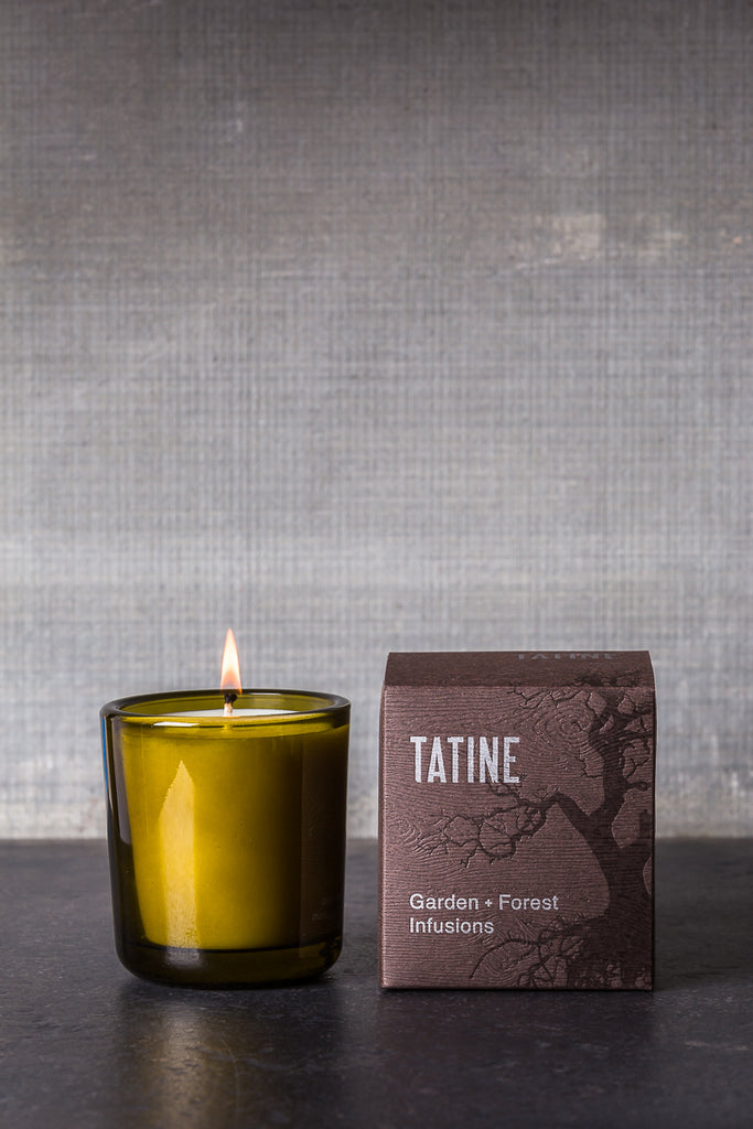 tatine garden forest candle bitter orange + lavender