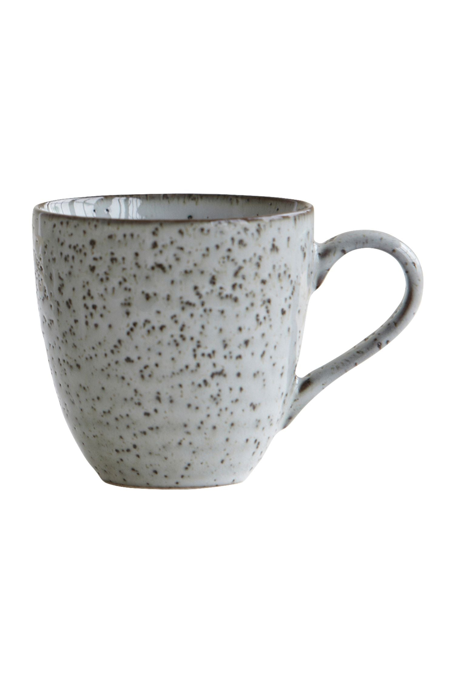 rustique mug grey blues