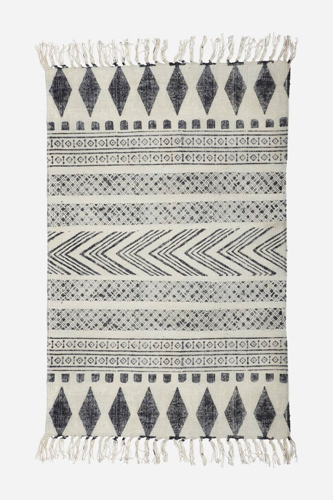 blockprint rug