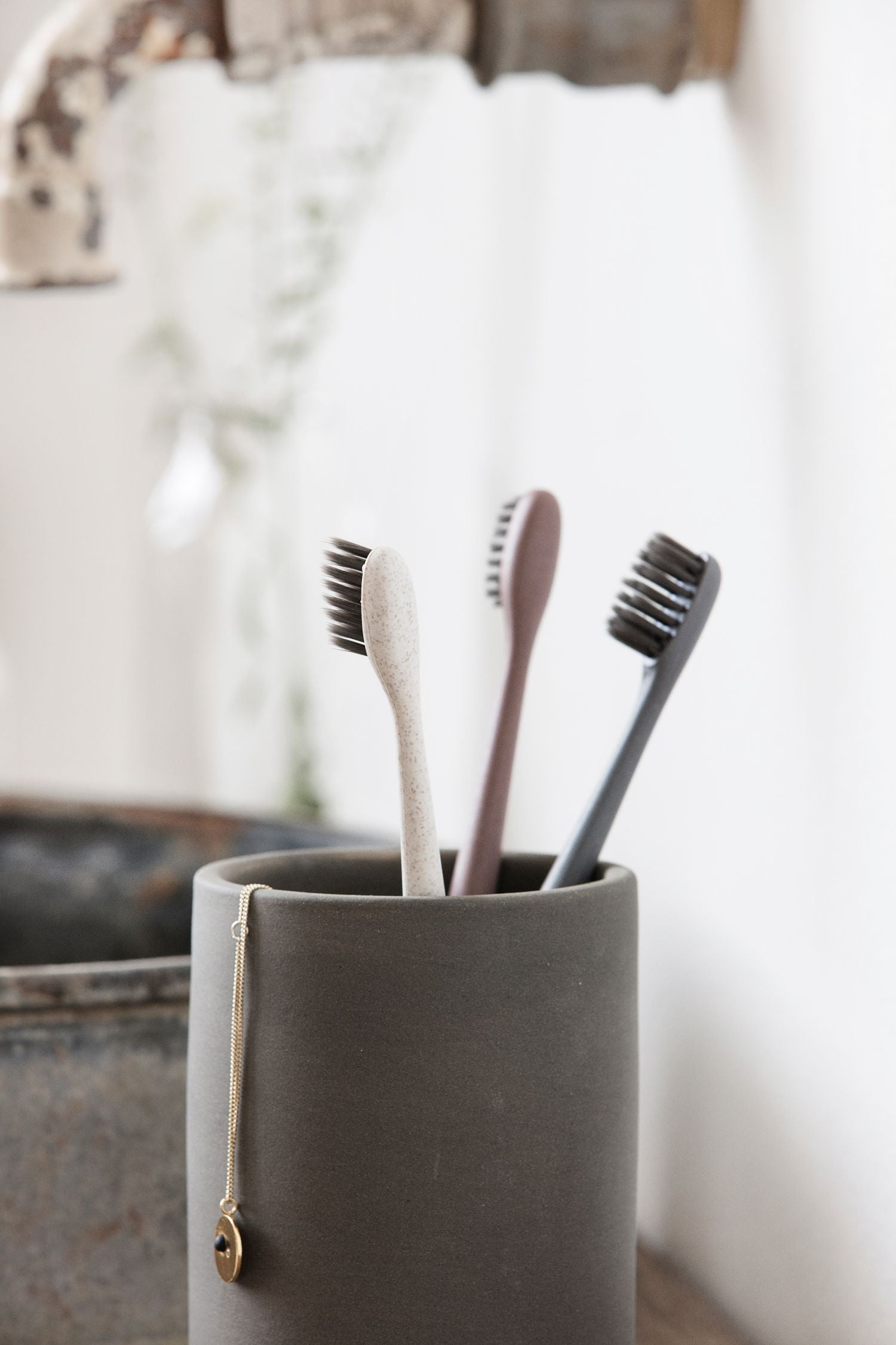 nature toothbrushes pack/3