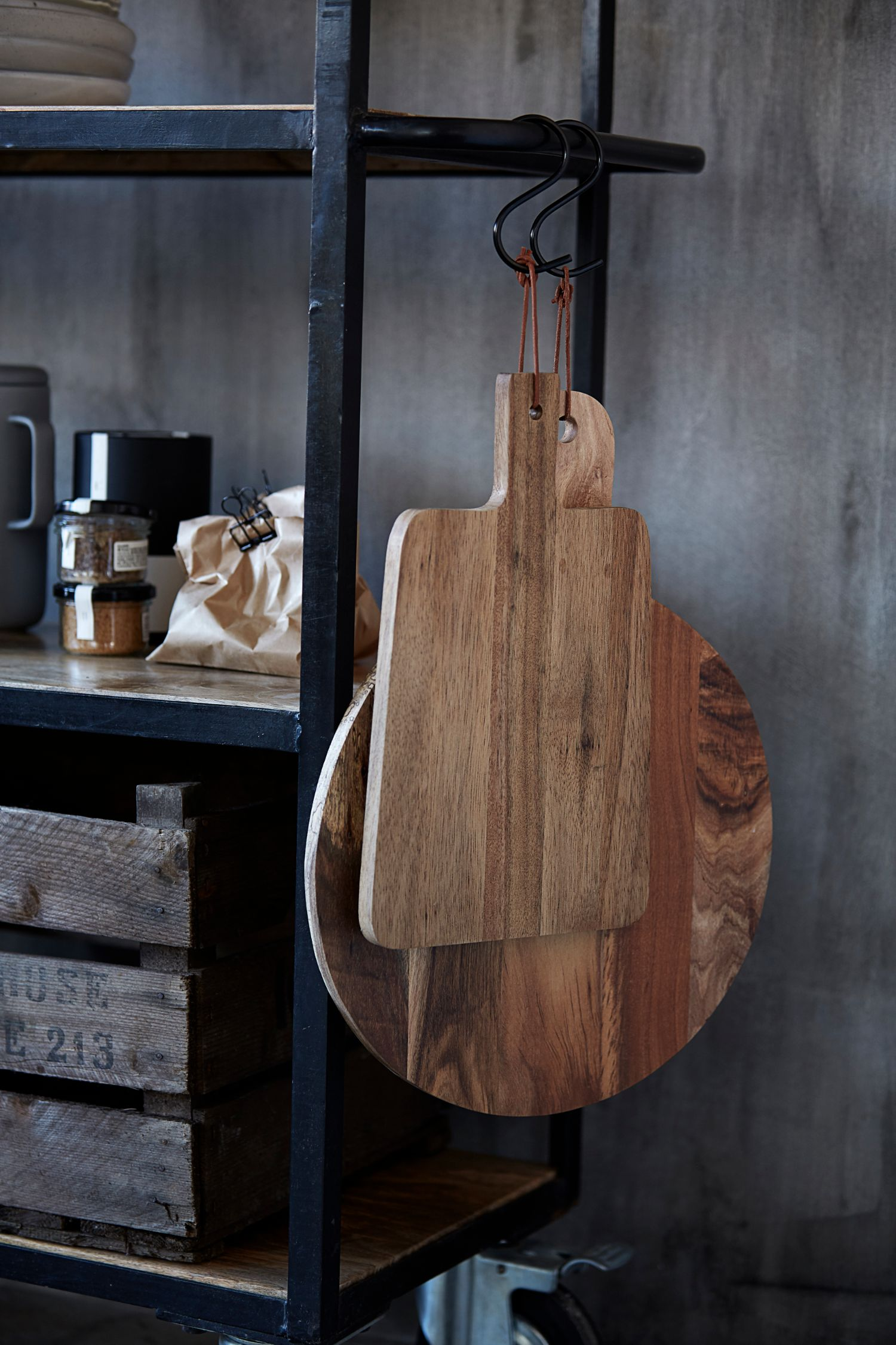 walnut cutting board L
