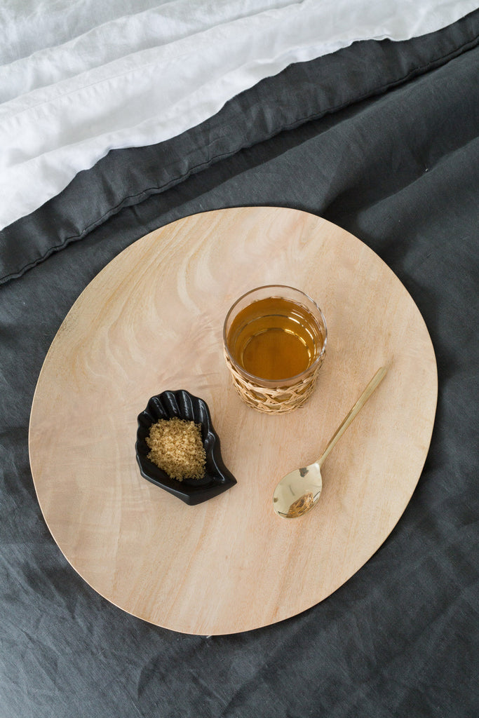 oyster dish black