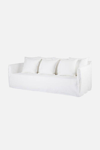 pelorous sofa 3 seater white