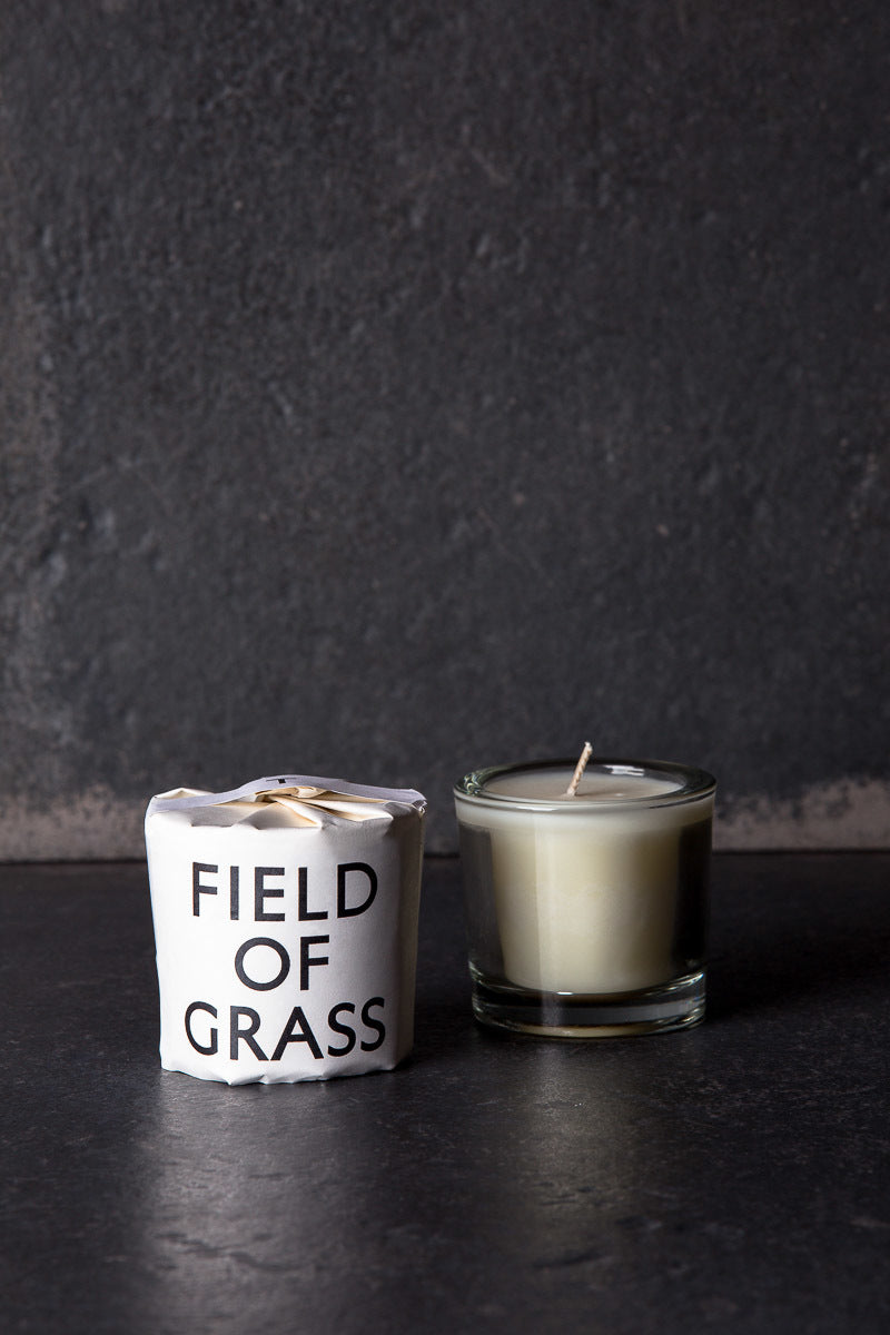 tatine tisane candle field-of-grass
