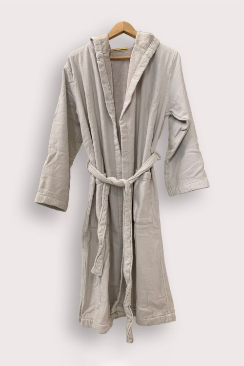 vintage wash robe clay