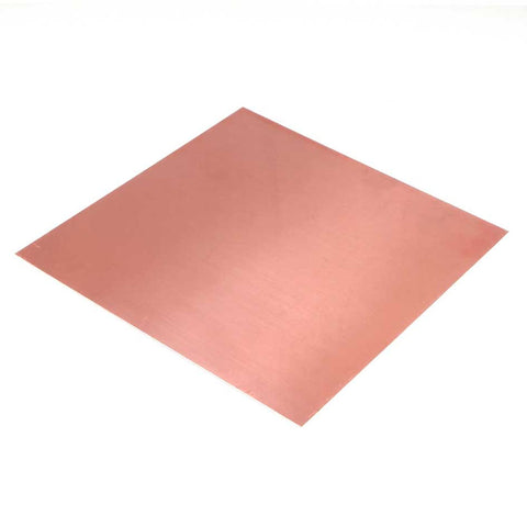 0.9MMX200X300 Copper Sheet Off Cut (Grade C122)