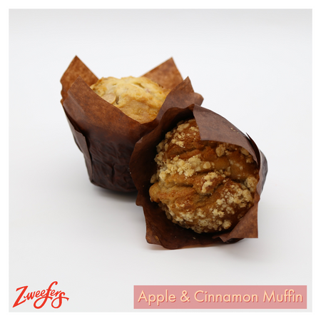 Zweefers Apple & Cinnamon Muffin