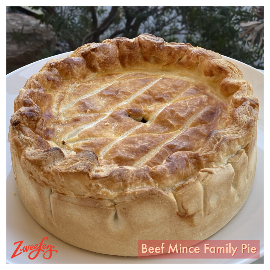 Beef Mince Family Pie