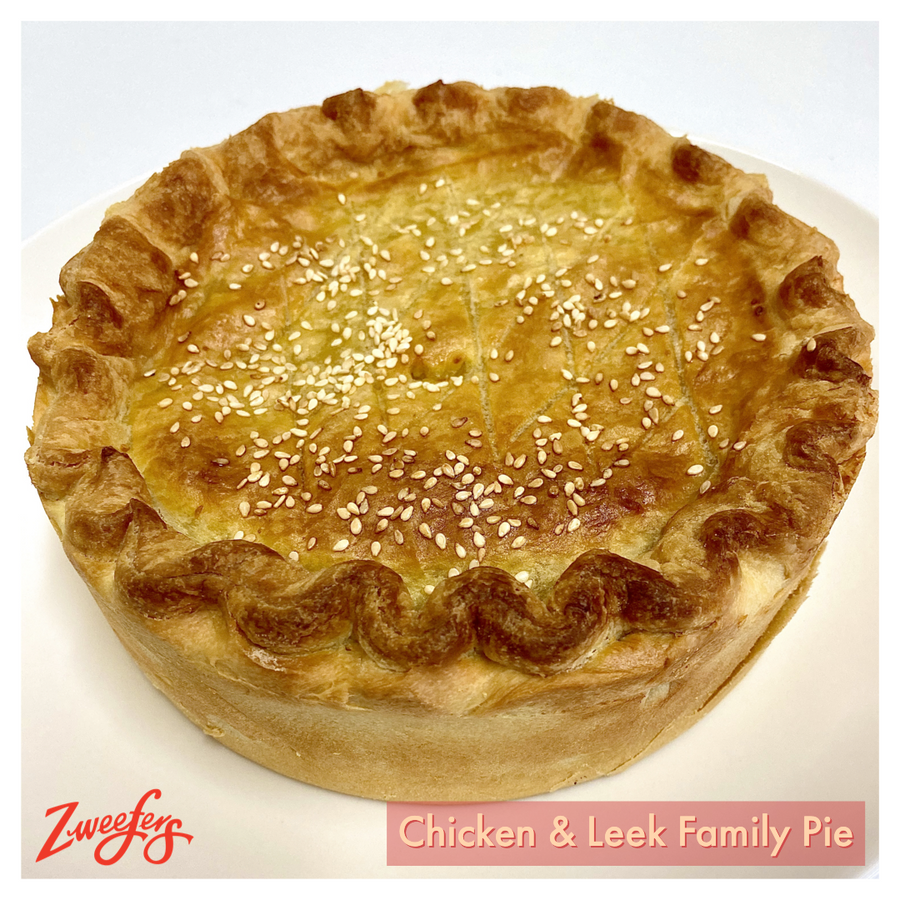 Chicken & Leek Family Pie