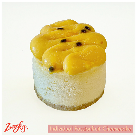 Zweefers Individual Passionfruit Cheesecake