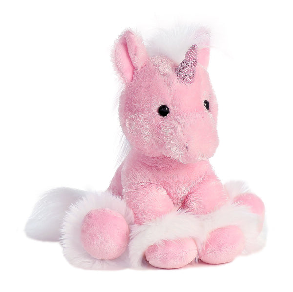 AURORA Soft Plush Pink Unicorn 'Dreaming Of You'