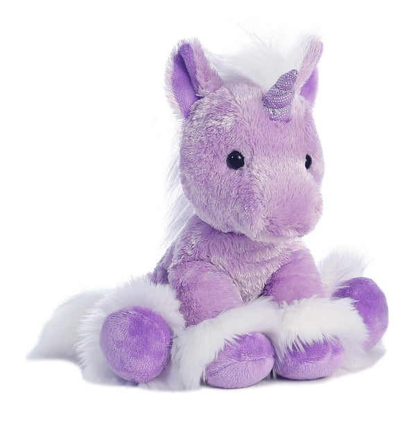 AURORA Soft Plush Purple Unicorn ''Dreaming Of You''