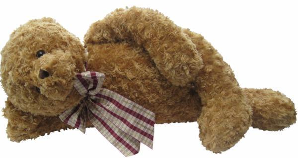 BEARINGTON COLLECTION Soft Plush Large Brown Teddy Bear Wuggles