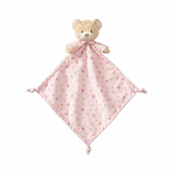 "ENESCO GIFT Soft Plush Pink Bear ""Lovey"" Infant"" Throw Blanket"