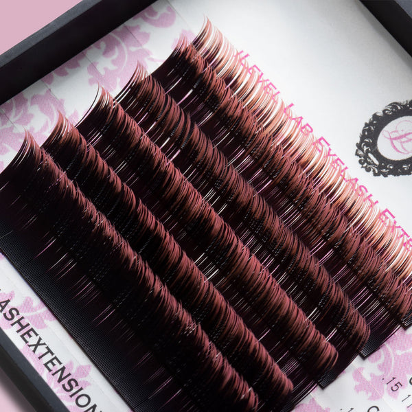 Pink Ombré Lashes