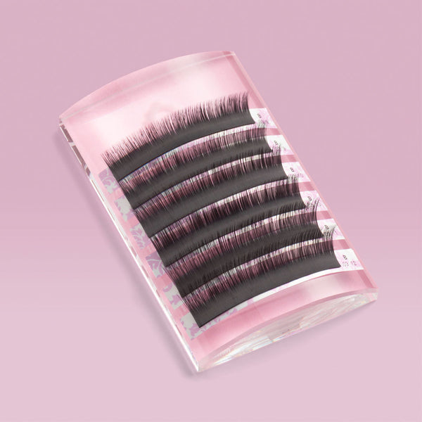 Curved Crystal Glass Lash Palette