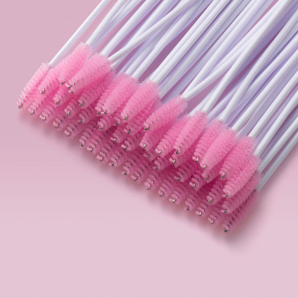Light Pink Mascara Brushes