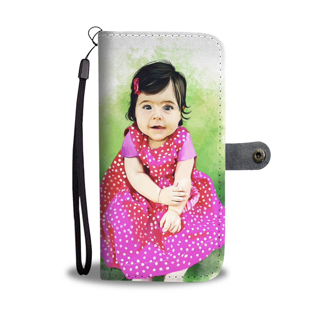 CUSTOM Baby Wallet Phone Case