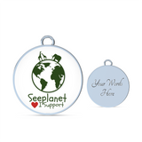 "Seeplanet ""I SUPPORT"" LIMITED EDITION BRACELET AND BANGLE"