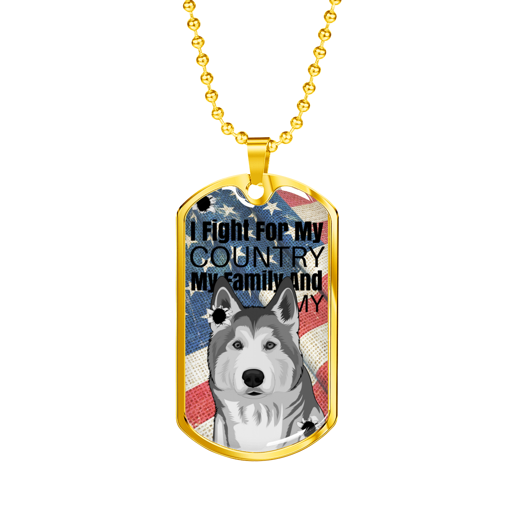 """Memorial Day"" LIMITED EDITION Custom Animal Dog Tag"