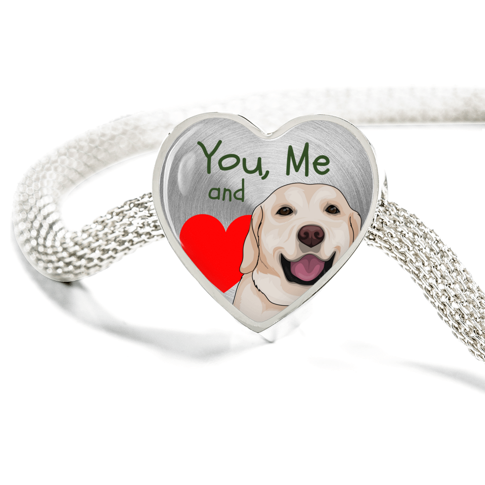 """You, Me and our Animal"" LIMITED EDITION Bracelet & Custom Charm"