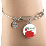 "SEEPLANET ""I SUPPORT ELEPHANTS"" LIMITED EDITION BRACELET AND BANGLE"