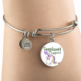 "SEEPLANET ""I SUPPORT UNICORNS"" LIMITED EDITION BRACELET AND BANGLE"