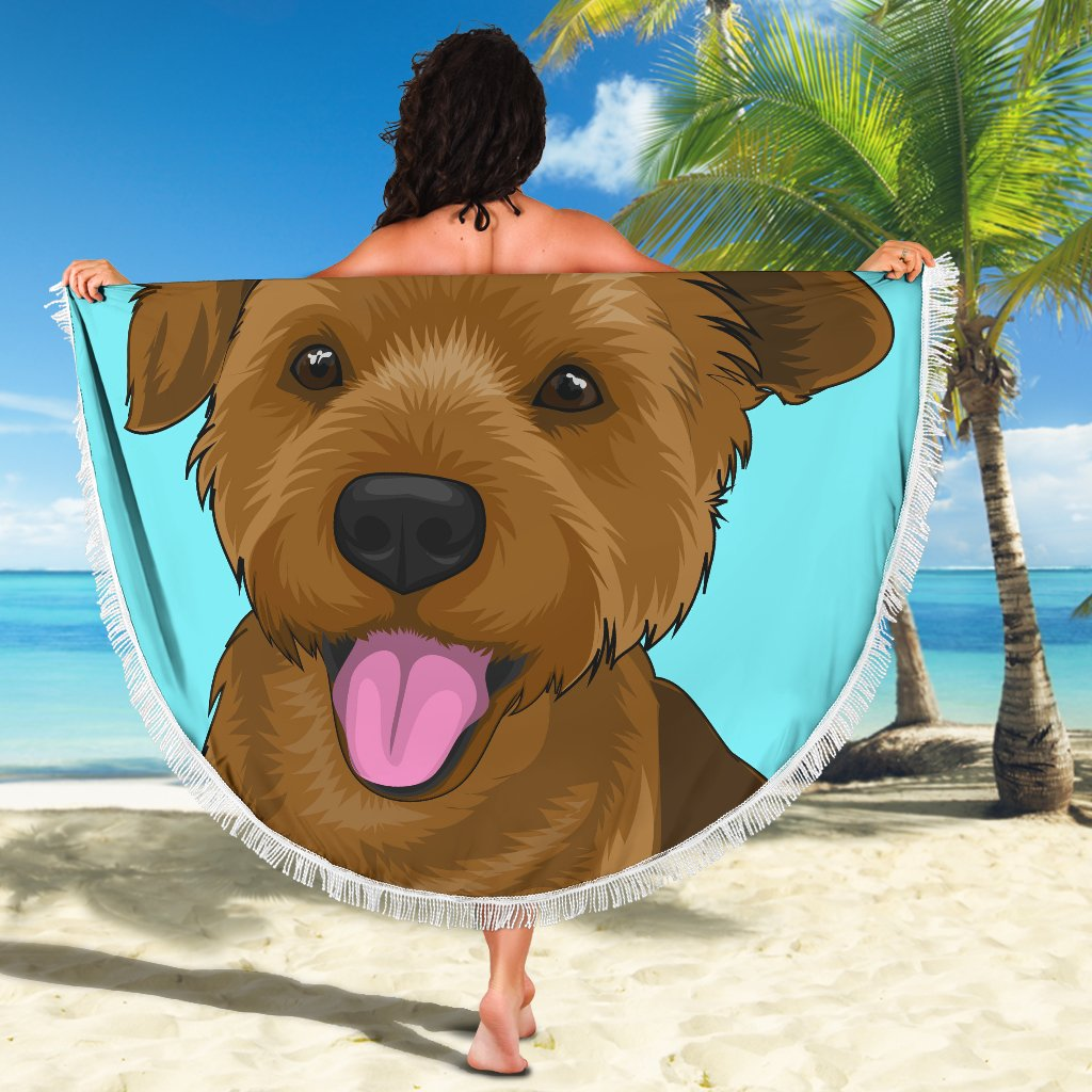 Custom Animal Beach Blanket