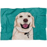 Custom Animal Fleece Blanket