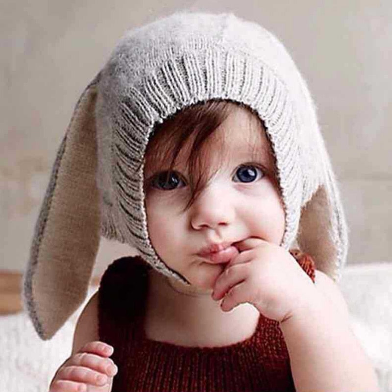 Baby Rabbit Ear Beanie