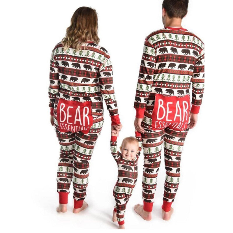 """Bear With Me"" Matching Pajamas"