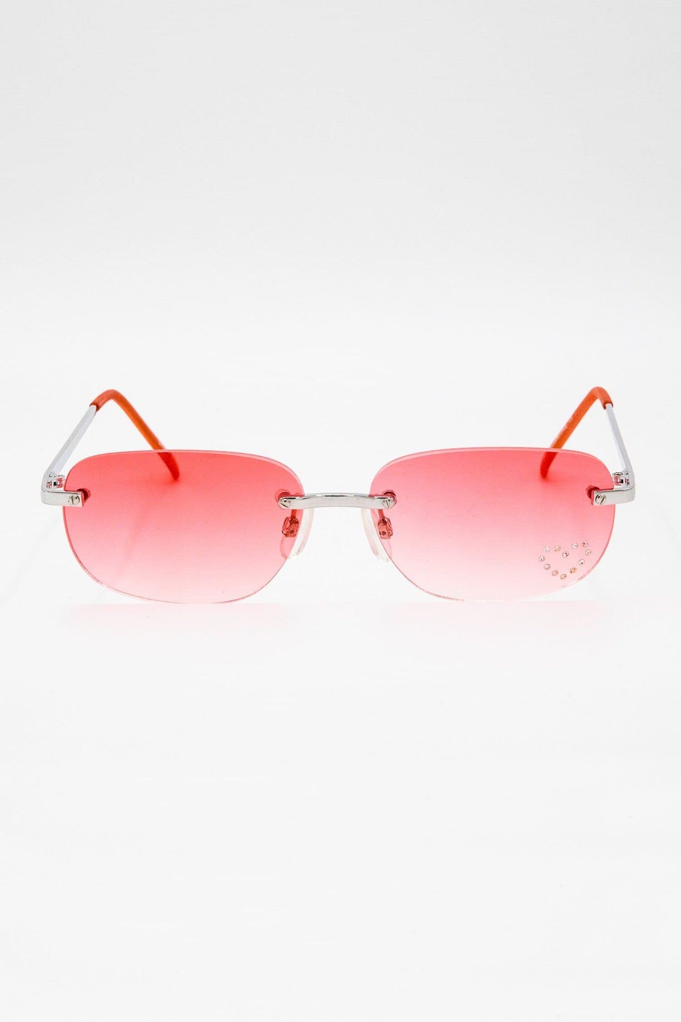 SGLOLITA - Lolita Red Heart Decal Sunglasses