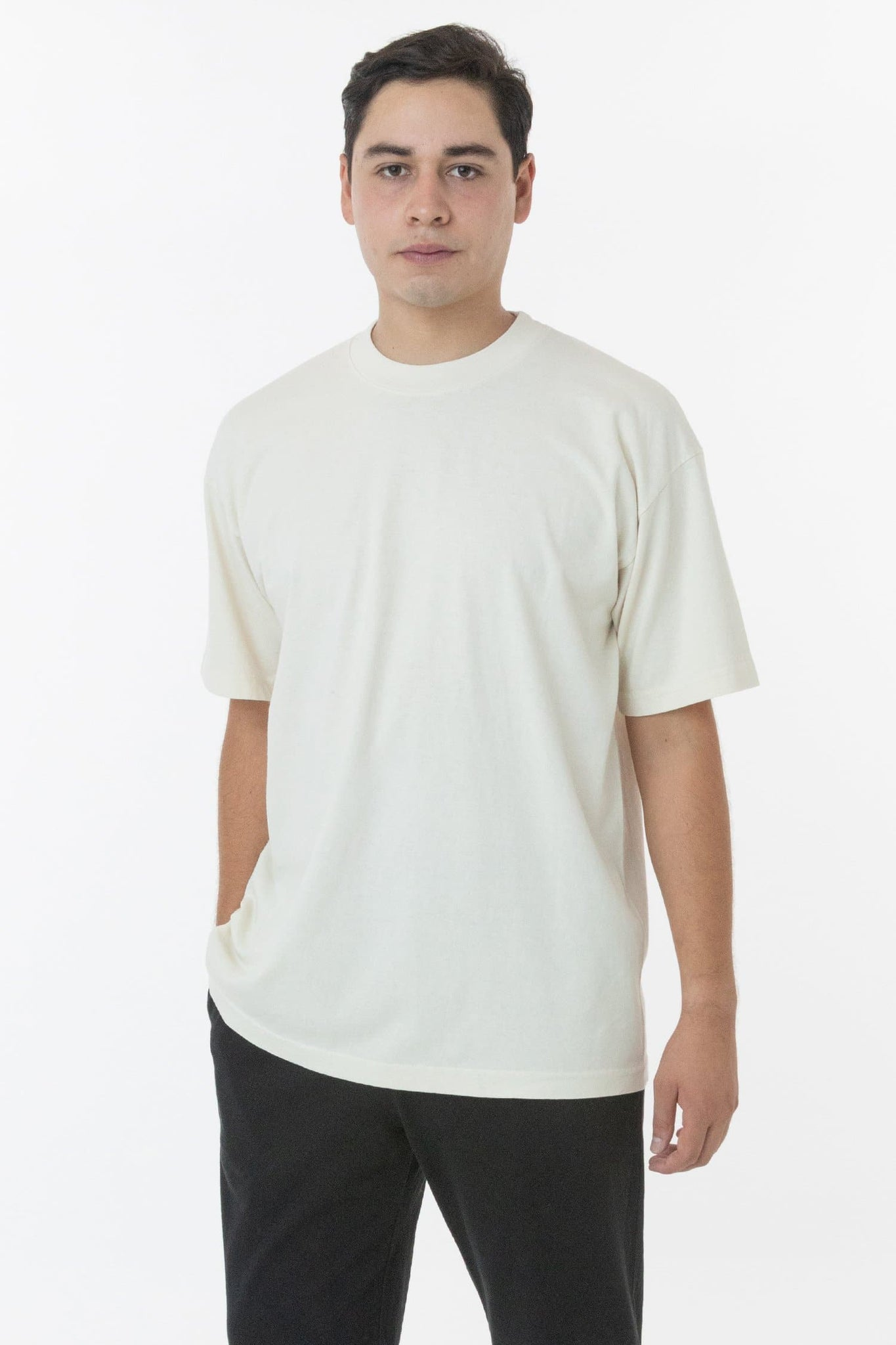 1801GD - 6.5oz Garment Dye Crew Neck T-Shirt (New & Now)