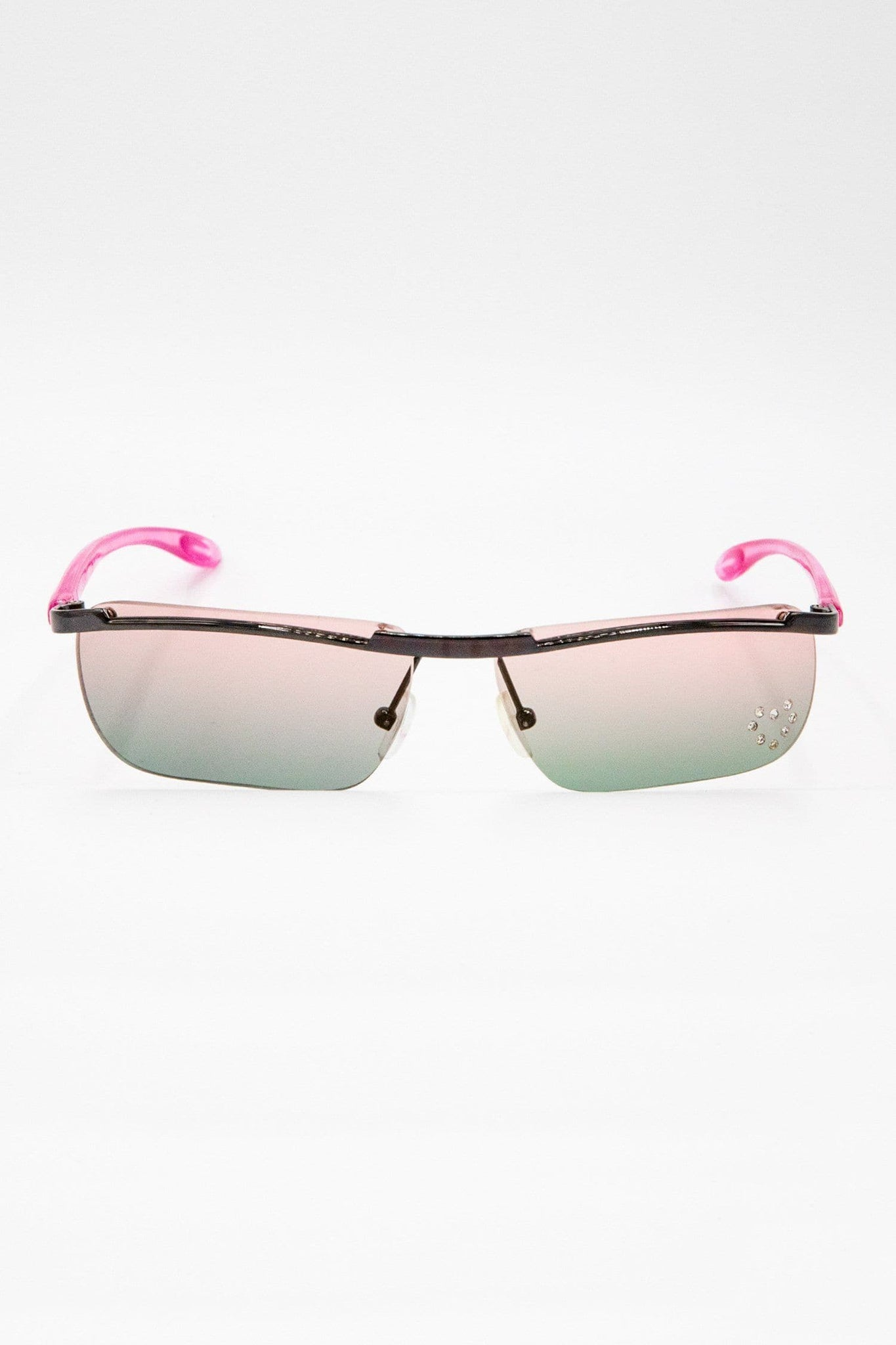 SGCARMEN - Carmen Ombre Heart Decal Sunglasses